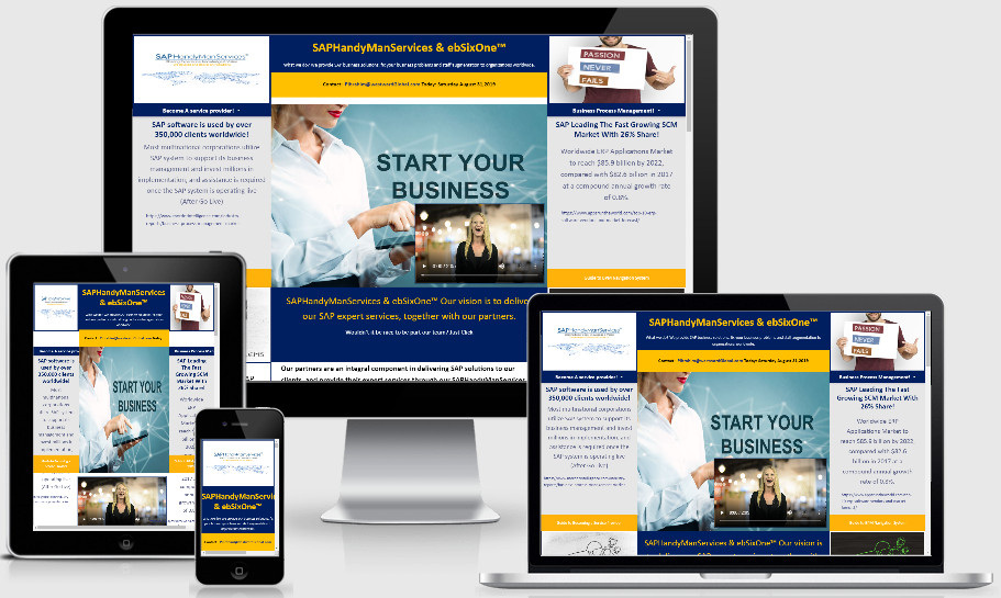 Business Directory website developed by TimeTechSol